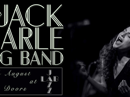 Jack Earle Big Band feat Alma Zygier