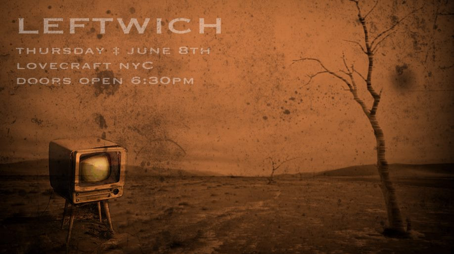 NYC-based electro-rock band Leftwich Live Show @ Lovecraft NYC