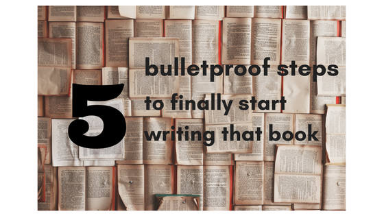 5 easy steps of how to start writing a book