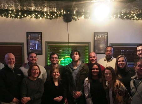 Fun Night at last night's Alumni Happy Hour at The Grog Grill in Bryn Mawr