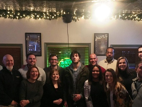 Fun Night at last night's Alumni Happy Hour at The Grog Grill in Bryn Mawr