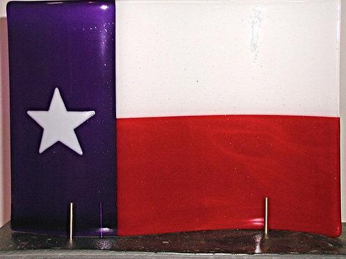Waving Texas Flag