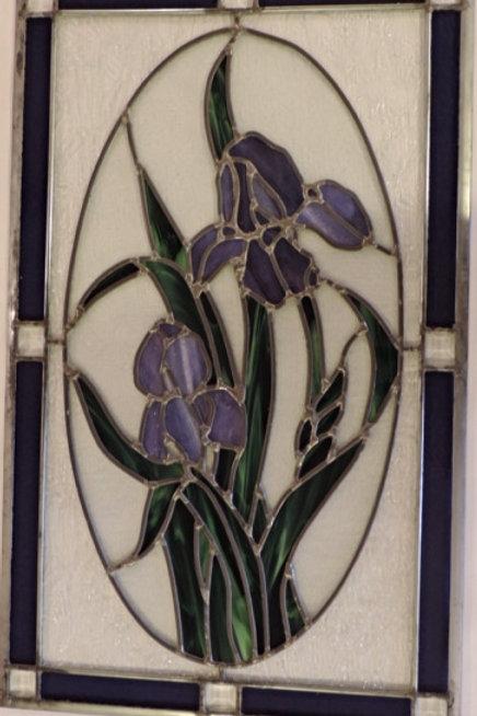 Purple Iris Window