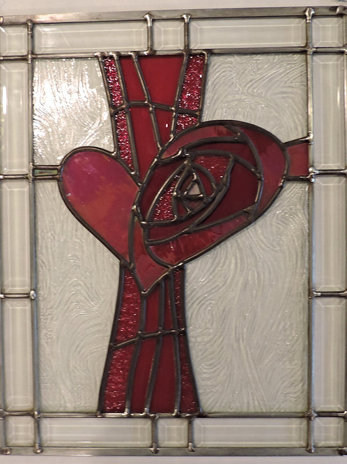 Red Heart Window