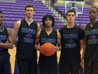 Five Seniors Make up Hallsville's Starting Five