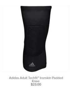 Adult Techfit Ironskin Padded Knee