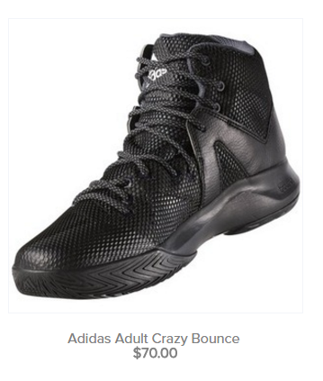 Adidas Adult Crazy Bounce