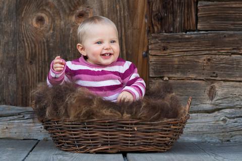 Baby Fotoshooting bei Lisa Lüthi Photography