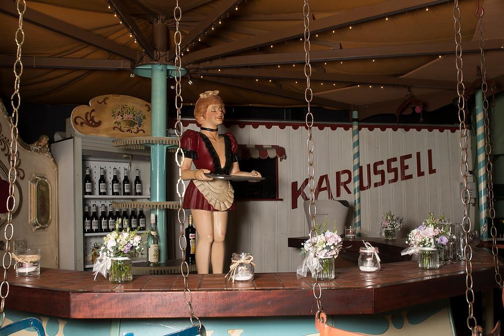 Hochzeit Schloss Falkenstein. Karussellsaal.