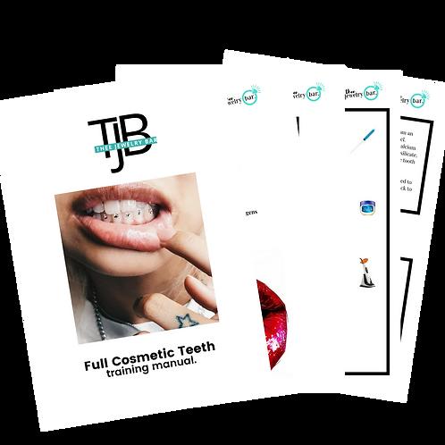 Cosmetic Teeth Printed Workbook