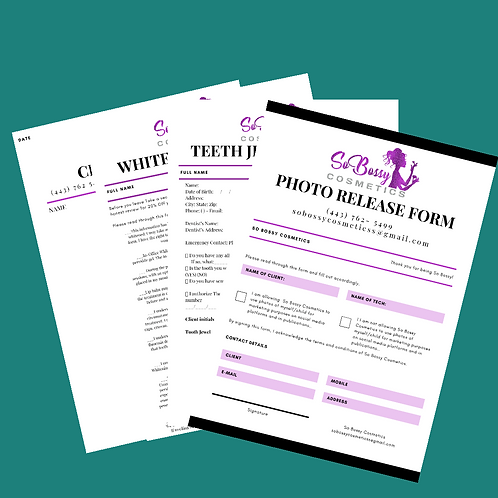 Branded Consent Forms