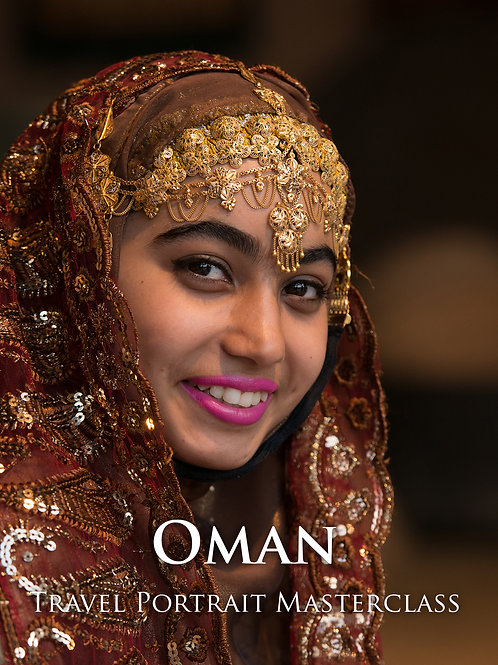 Oman Travel Portrait Masterclass (Deposit)