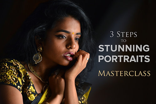 3 Steps to Stunning Portraits Masterclass - Stockholm, 11-12 Sep 2021