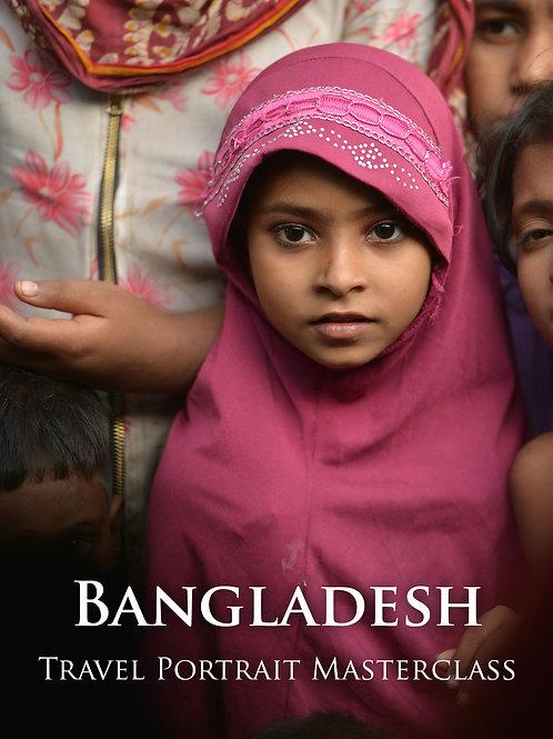 Bangladesh Travel Portrait Masterclass (Deposit)