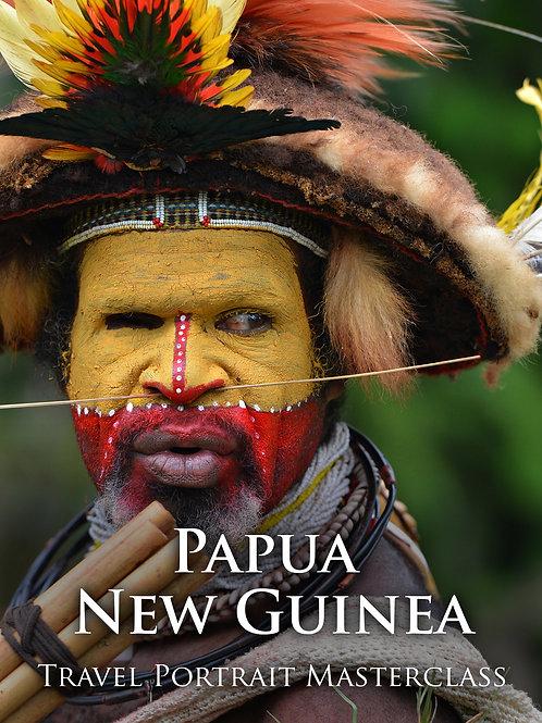 Papua Travel Portrait Masterclass (Deposit)