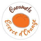 Le caramel français Ecorce d'orange