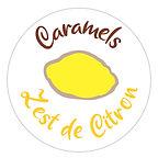 Le caramel français Zest de citron