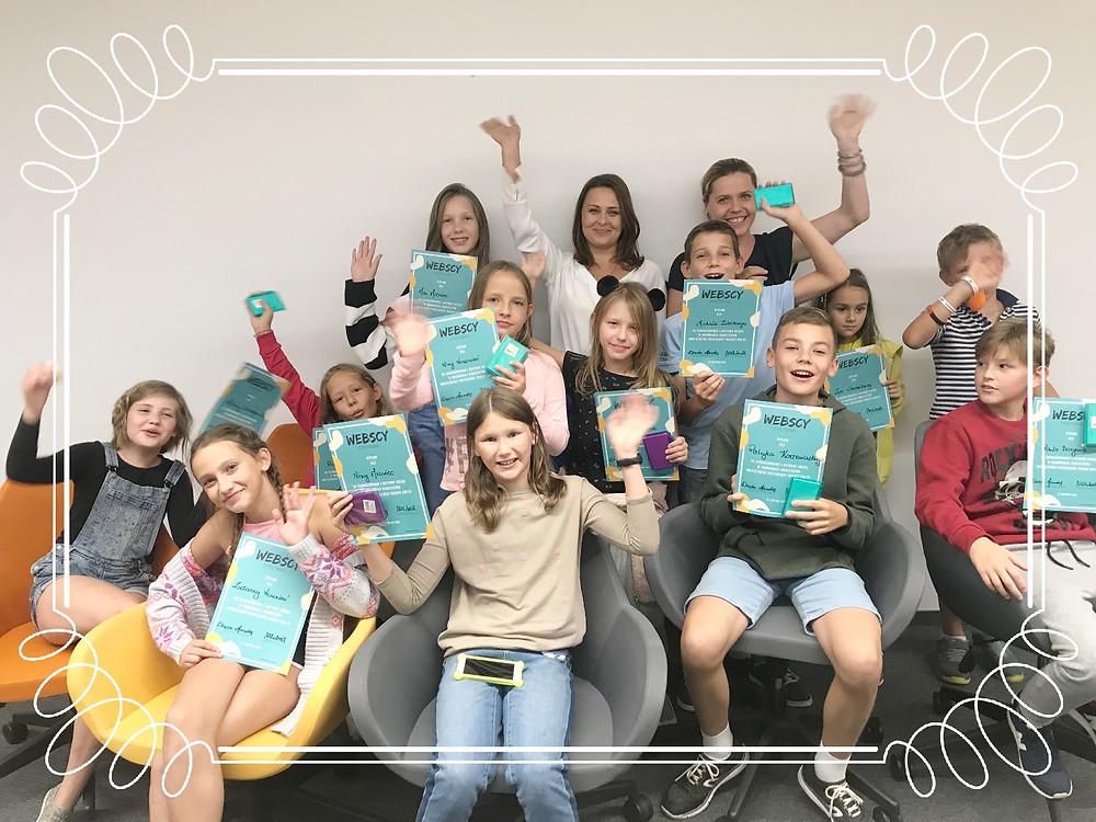 Pierwsza grupa Webskich dzieciaków z dyplomami!