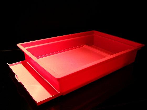 Base with sliding tray
