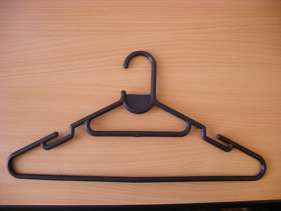 Coat Hanger Black