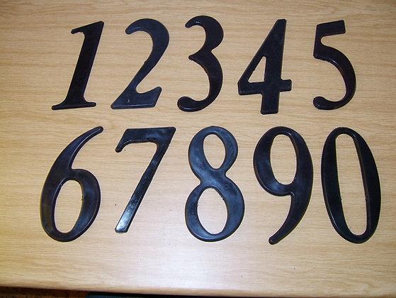 Numerals 0 to 9
