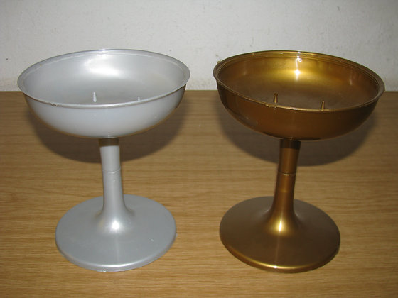 Compote Gold & Silver