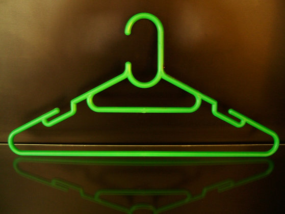 Coat Hanger colored