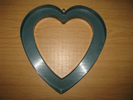 Heart outer wreath