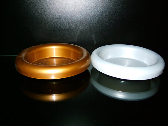 Small designer bowl (available in gold and silver)