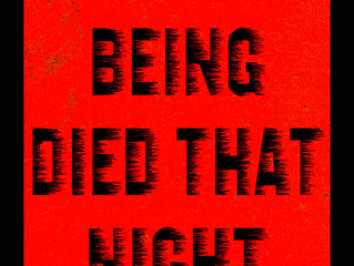 A HUMAN BEING DIED THAT NIGHT - Spring Performances