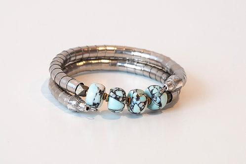 Light Blue Turquoise Armlet