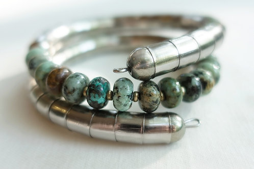 African Turquoise Necklet