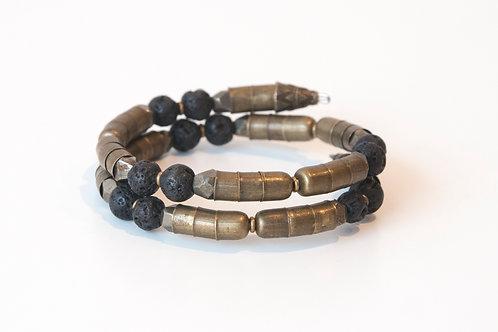 Lava Stone + Pyrite Armlet