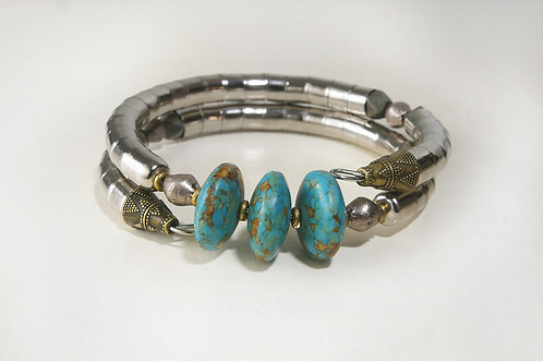 Turquoise Disk Armlet