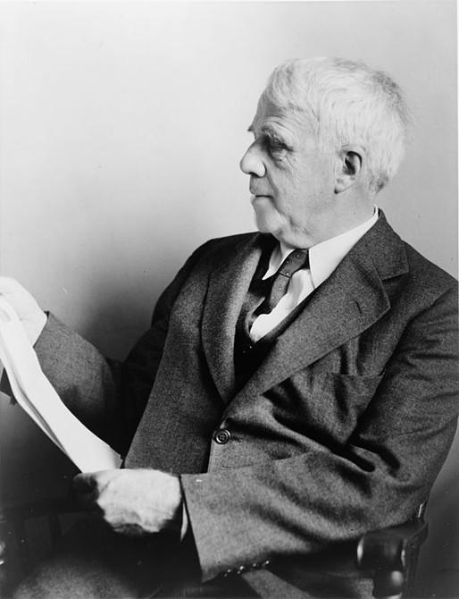 Robert Frost por Lucas Zaparolli