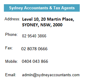 Sydney Accountants