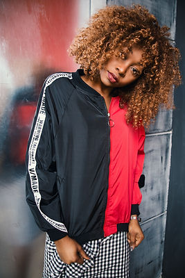 woman-wearing-black-and-red-zip-up-jacke
