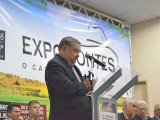 Presidente do Sistema FAEMG participa da 44ª Expomontes