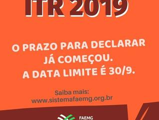 Produtores rurais já podem declarar ITR 2019