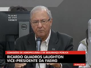 Audiência Pública discute invasão de terras em Minas Gerais