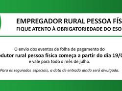 Entenda o eSocial e a EFD-REINF no Meio Rural