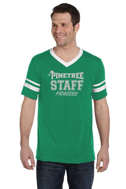 Men's Staff V-Neck Shirt