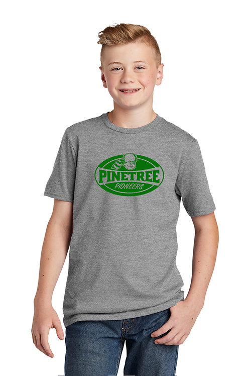 YOUTH Heather Grey T-Shirt