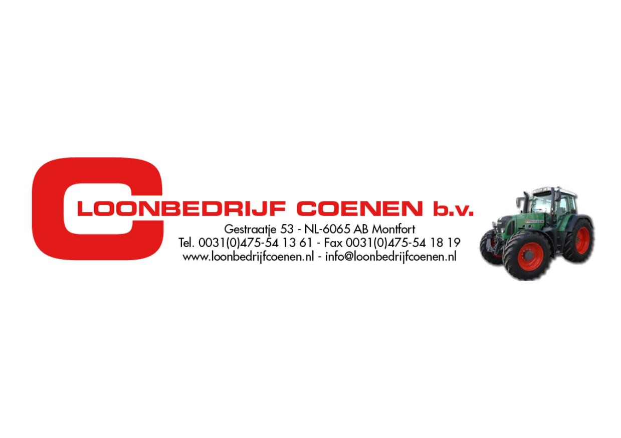 Een nieuwe website voor Loonbedrijf Coenen