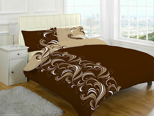 Jacob Print Duvet Covers that open on 3 sides. Double Size