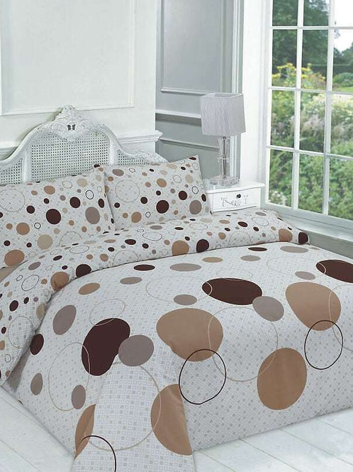 Noah Print Duvet Covers that open on 3 sides. Single Size