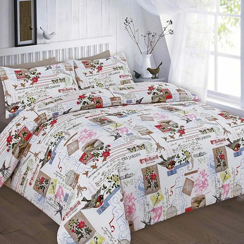 Tily Print Duvet Covers that open on 3 sides. Single Size