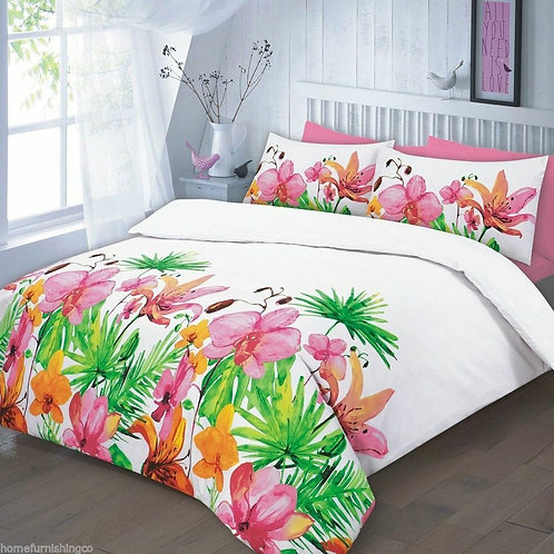 Floral Duvet Covers - Open on 3 sides. Super King Size