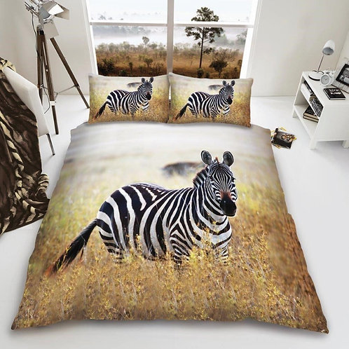 3D Duvet Covers that Open on 3 Sides. King Size