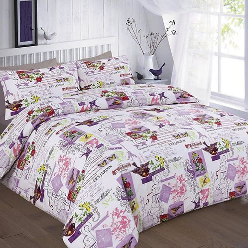 Tily Print Duvet Covers that open on 3 sides. King Size